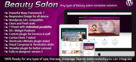 Тема для WordPress Beauty Salon