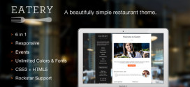 Тема для WordPress Eatery