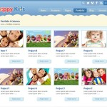 Тема для WordPress Happy Kids