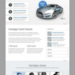 Премиум тема для WordPress Longpage