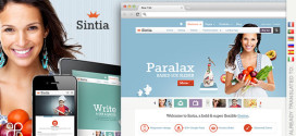 Премиум тема для WordPress Sintia