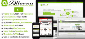 Премиум тема для WordPress Alterna v5.2.2
