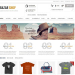 Премиум тема для WordPress Bazar Shop v2.2.0