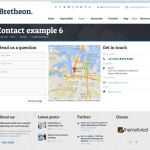 Премиум тема для WordPress Bretheon
