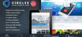 Премиум тема для WordPress Circles v3.5