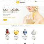 Премиум тема для WordPress Cosmetico v1.5
