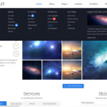 Премиум тема для WordPress Galaxy v1.1