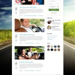 Премиум тема для WordPress Driving School v1.5