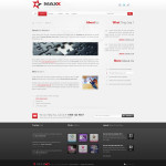 Премиум тема для WordPress Maxx