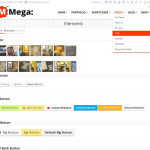Премиум тема для WordPress Mega 1.4.1