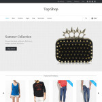 Премиум тема для WordPress Topshop