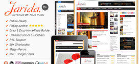Премиум тема для WordPress Jarida