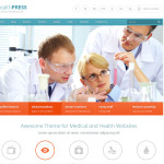 Премиум тема для WordPress HealthPress v1.5