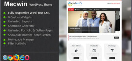 Премиум тема для WordPress Medwin