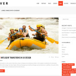 Премиум тема для WordPress River