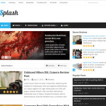 Премиум тема для WordPress Splash