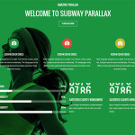 Премиум тема для WordPress Subway