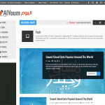 Премиум тема для WordPress AlYoum