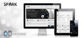 Премиум тема для WordPress Spark