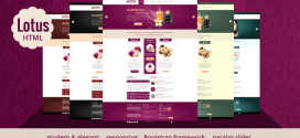 Премиум тема для WordPress Lotus v.1.0.1