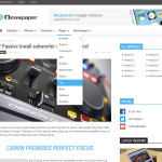 Премиум тема для WordPress Newspaper v.3.1