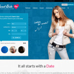 Премиум тема для WordPress Sweet date