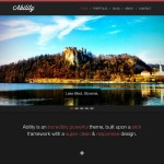 шаблон wordpress parallax