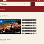 премиум тема Heal Church
