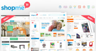 Премиум тема WordPress ShopMe