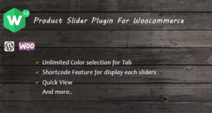 WCBox – Product Slider Plugin For Woocommerce